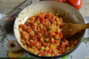 Вегетарианская паста - фото шаг 7