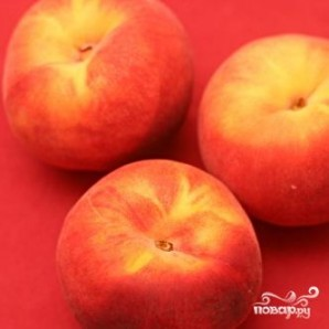 Персиковый тарт с посыпкой - фото шаг 1