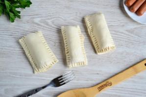 Сосиски с сыром в тесте - фото шаг 4