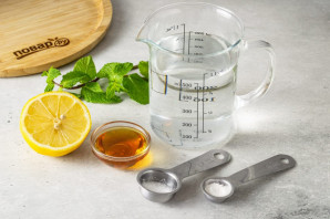 Содовая с лимоном - фото шаг 1