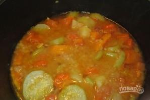 Суп-пюре из тыквы диетический - фото шаг 6