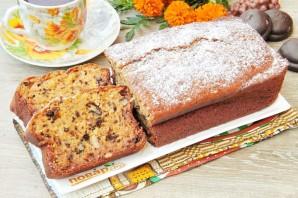 Пирог из тыквы с орехами - фото шаг 9
