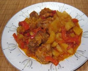 Курица в горшочке в духовке с овощами - фото шаг 4