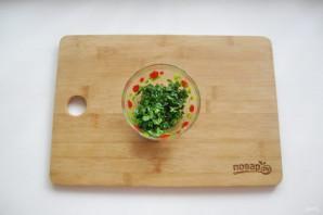 Закуска с баклажанами и чесноком - фото шаг 7