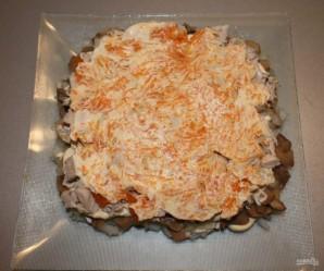 Слоеный салат с куриным филе - фото шаг 6