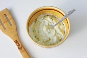 Лаваш со сливочным сыром - фото шаг 3