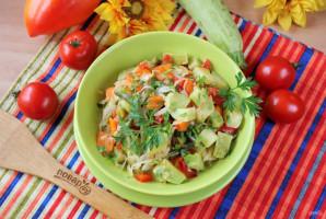 Овощное рагу со стручковой фасолью и кабачками - фото шаг 9