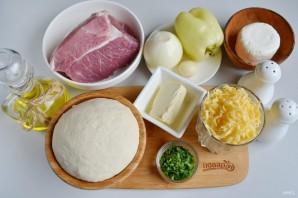 Сырные булочки с мясной начинкой - фото шаг 1