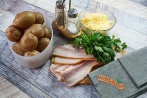 Запеченный хрустящий картофель с сыром - фото шаг 1