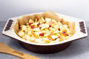 Манник без яиц с яблоками - фото шаг 5