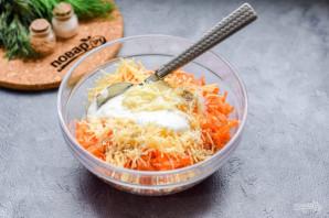 Салат из моркови без майонеза - фото шаг 4