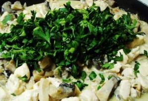 Курник с курицей и грибами   - фото шаг 5