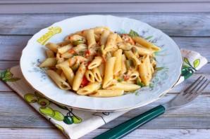Паста с помидорами и маслинами - фото шаг 6