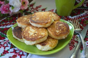 Сырники с манкой - фото шаг 5