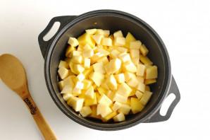Овощное рагу с картошкой - фото шаг 7