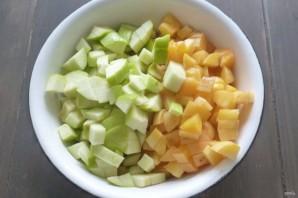 Соус из абрикосов и яблок - фото шаг 1