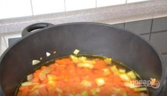 Острый морковный суп с курагой - фото шаг 3