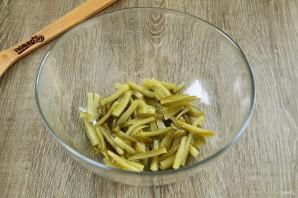 """Салат """"Лисичка"""" с корейской морковкой - фото шаг 2"""
