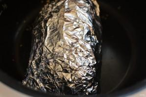 Сочная свинина в фольге с луком и сладким перцем - фото шаг 4