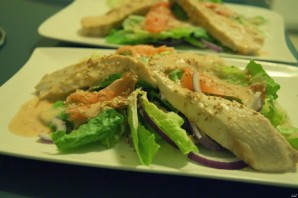 Салат с маринованным имбирем - фото шаг 4