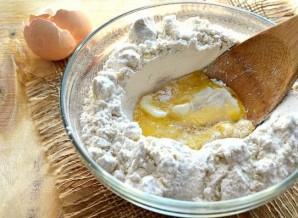 Тесто на молоке без дрожжей - фото шаг 3