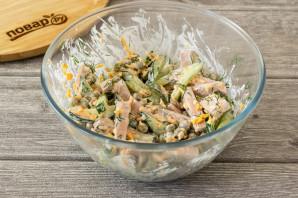 Салат с картофелем фри - фото шаг 6