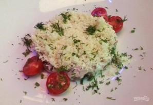 Салат с курицей, грибами и грецкими орехами - фото шаг 4
