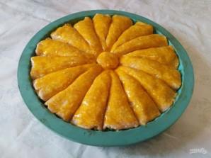 Рожковый пирог с яичной начинкой - фото шаг 10