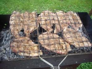 Стейк из говядины на мангале - фото шаг 3
