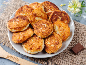 Сырники из обезжиренного творога - фото шаг 7