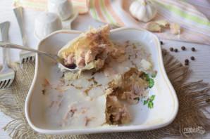 Холодец из свиных ножек и индейки - фото шаг 8