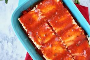 Сырная лазанья с томатным соусом - фото шаг 3