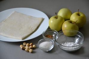"""Яблоки в """"платочках"""" - фото шаг 1"""