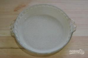 Бисквит на кефире с вареньем - фото шаг 7