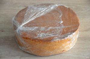 Бисквитный торт с вареной сгущенкой  - фото шаг 8