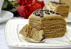 """Торт """"Минутка"""" на сковороде - фото шаг 17"""