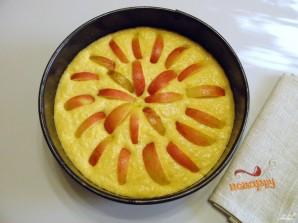 Тыквенный пирог с яблоками - фото шаг 6