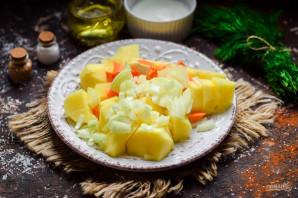 Картошка со сметаной и чесноком - фото шаг 3