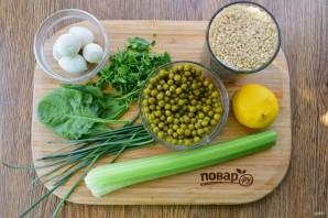 Витаминный салат с рисом - фото шаг 1