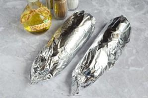 Скумбрия, фаршированная овощами - фото шаг 5
