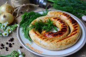 Куриные колбаски с сыром для гриля - фото шаг 12