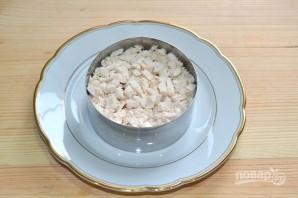 Салат с консервированным перцем - фото шаг 8