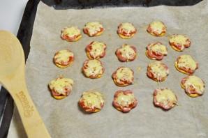 Пицца на претцеле за 10 минут - фото шаг 4