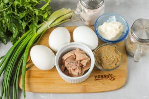 Салат из печени и икры минтая - фото шаг 1