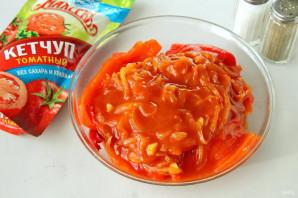 Перец в томатном соусе с кетчупом - фото шаг 9