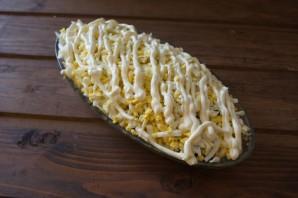 Пасхальный салат с курицей - фото шаг 4