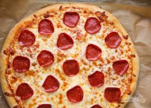 Пицца с пепперони - фото шаг 4