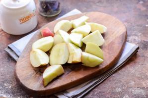 Компот из яблок и каркаде на зиму - фото шаг 2