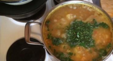 Суп из чечевицы с курицей и овощами - фото шаг 4
