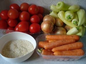 Перец с рисом на зиму - фото шаг 1